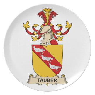 Tauber Family Crest Dinner Plate