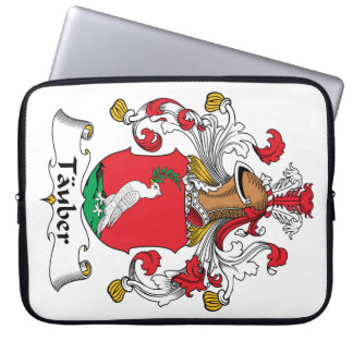 Tauber Family Crest Computer Sleeve