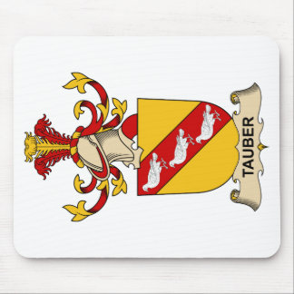 Tauber Family Crest Mouse Pads