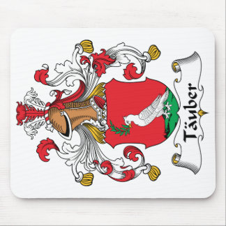 Tauber Family Crest Mousepads
