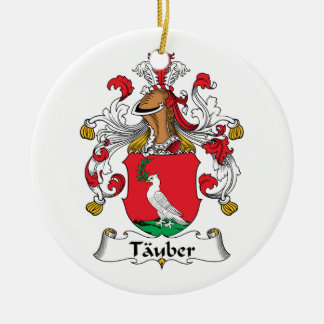 Tauber Family Crest Ornaments