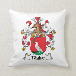 Tauber Family Crest Pillow