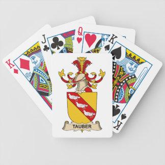 Tauber Family Crest Poker Cards
