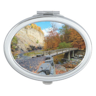 Taughannock Falls State Park Compact Mirror