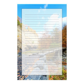 Taughannock Falls State Park Customized Stationery