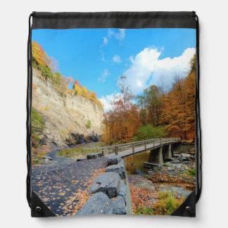 Taughannock Falls State Park Drawstring Bag