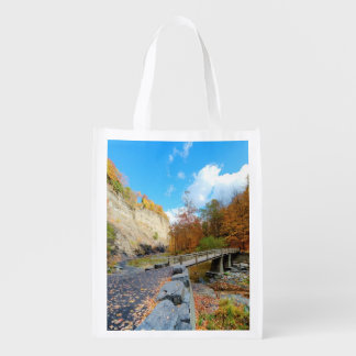 Taughannock Falls State Park Reusable Grocery Bag