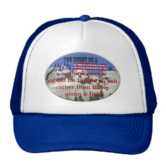 taught to fish mesh hats
