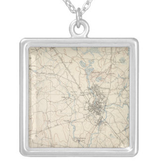 Taunton, Massachusetts Silver Plated Necklace