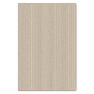 Taupe Faint Pin Stripe Tissue Paper