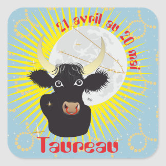 Taureau 21 avril outer 20 May Autocollants