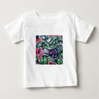 Taurian - Evil Plant Spray paint Art Graffiti Baby T-Shirt