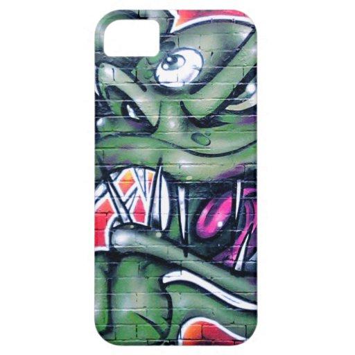 Taurian - Evil Plant Spray paint Art Graffiti iPhone 5/5S Case