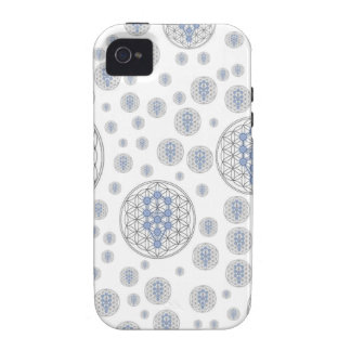 Taurian - Tree of life - Flower of Life Case-Mate iPhone 4 Case