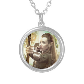 TAURIEL™ Daughter of Mirkwood Silver Plated Necklace