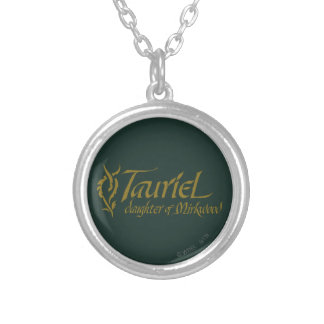 TAURIEL™ Name Silver Plated Necklace