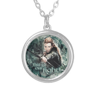 TAURIEL™ - This Is Our Fight Silver Plated Necklace