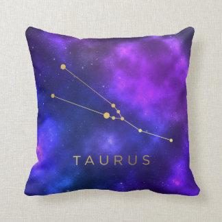 Tauru Zodiac Sign Custom Throw Pillow - Home Decor