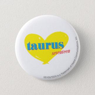 Taurus 3 6 cm round badge