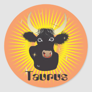 Taurus April 21 tons May 20 Sticker