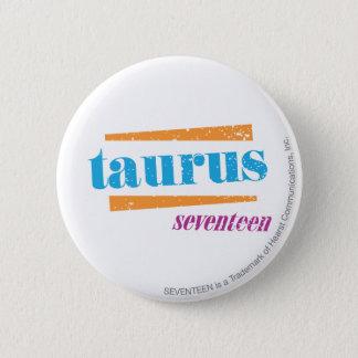Taurus Aqua 6 Cm Round Badge