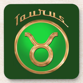 Taurus Astrological Sign Coasters