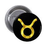 Taurus Black Gold Buttons