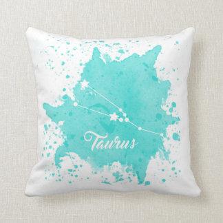 Taurus Blue Pillow
