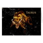 Taurus - Bull-Card