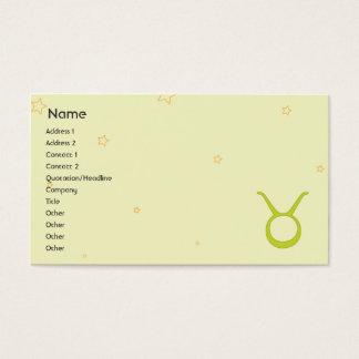 Taurus - Business Business Card