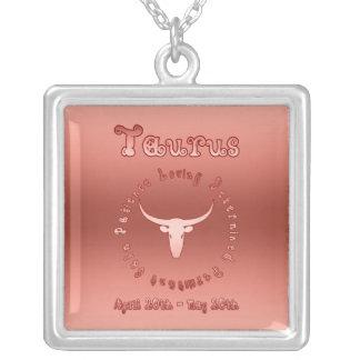 Taurus Characteristics (Zodiac Earth Sign + Bull) Pendants