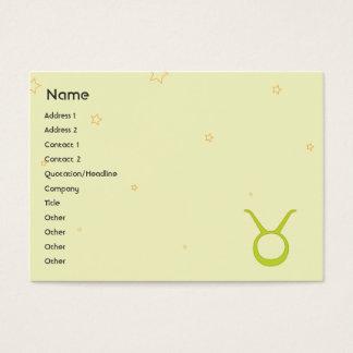 Taurus - Chubby Business Card