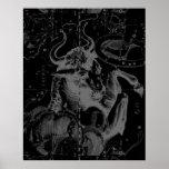 Taurus Constellation Hevelius 1690 Decor