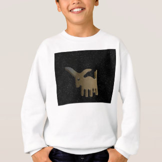 Taurus golden sign sweatshirt