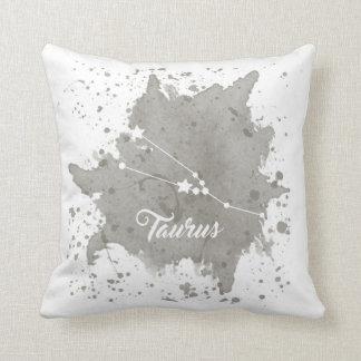 Taurus Gray Pillow