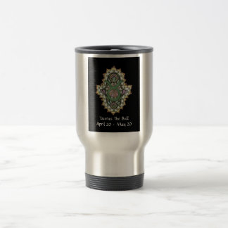 Taurus Khamsa Travel Mug