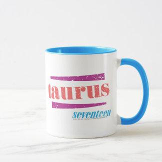 Taurus LtPink Mug