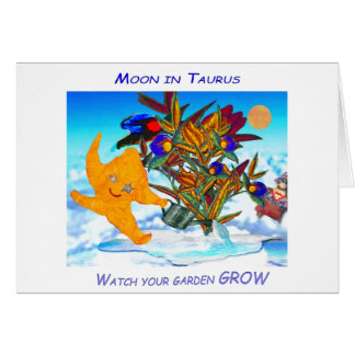 Taurus Moon Card