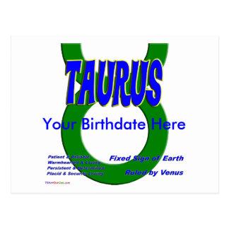 Taurus Postcards