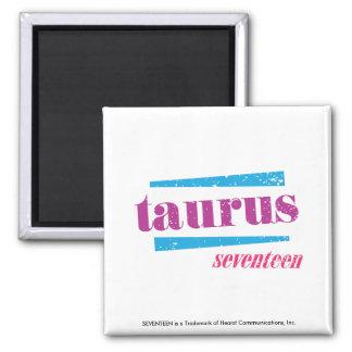 Taurus Purple Fridge Magnet