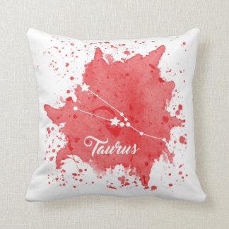 Taurus Red Pillow