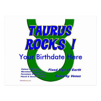 Taurus Rocks ! Postcards