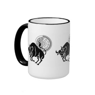 Taurus Shadow Coffee Mug