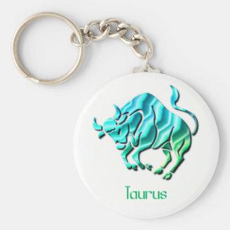 Taurus Sign Keychain