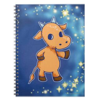 Taurus Spiral Note Book