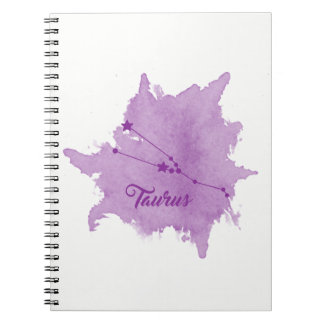 Taurus Star Sign Notebook