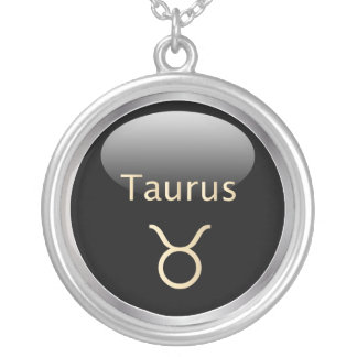 Taurus the bull astrology star sign necklace