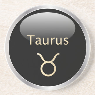 Taurus the bull astrology star sign zodiac coaster