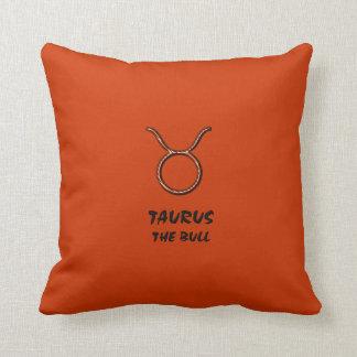 Taurus the bull pillow