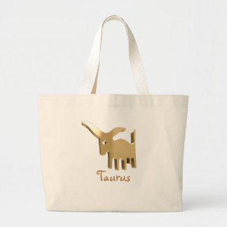 Taurus, Toro Large Tote Bag